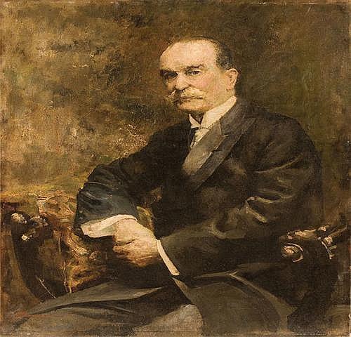 Giuseppe Amisani (1881-1941) Ritratto d'uomo, 1912