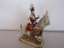 19th century german porcelain figurine of a