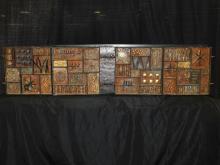Paul Evans Rare Sculpture Front Cabinet