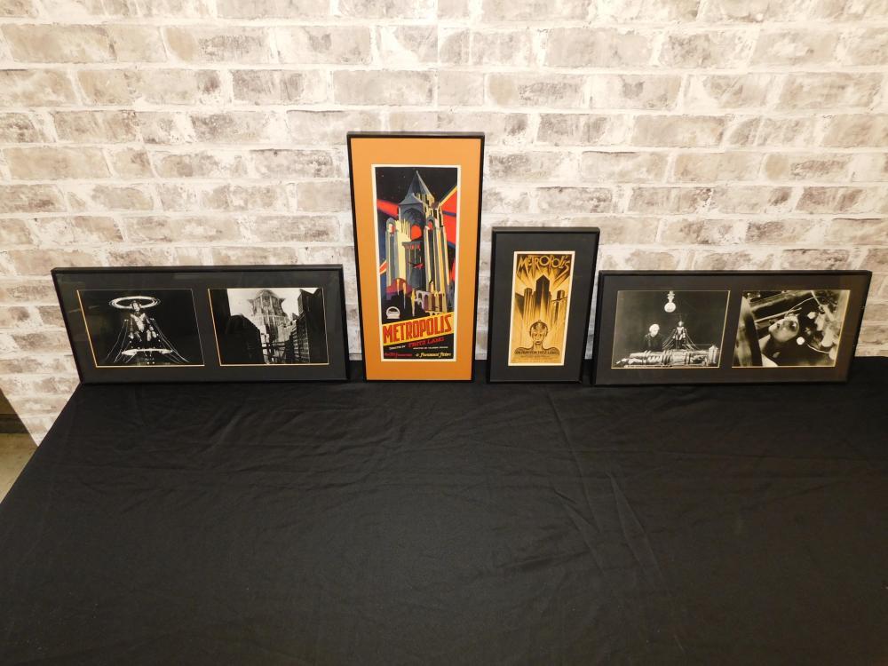 4 Metropolis Art Pieces