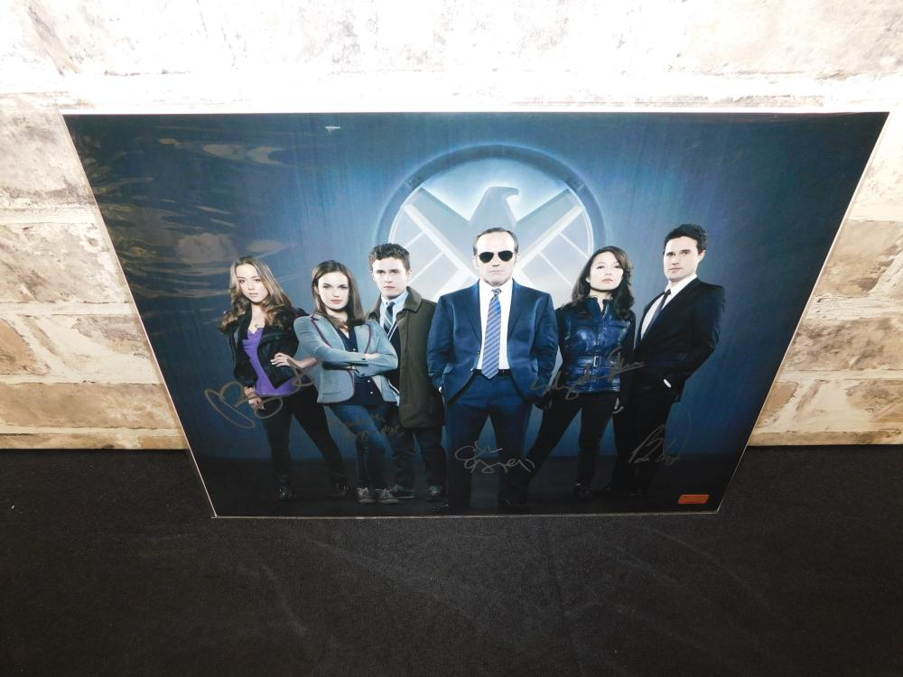 Autographed Agents of Shield Photo