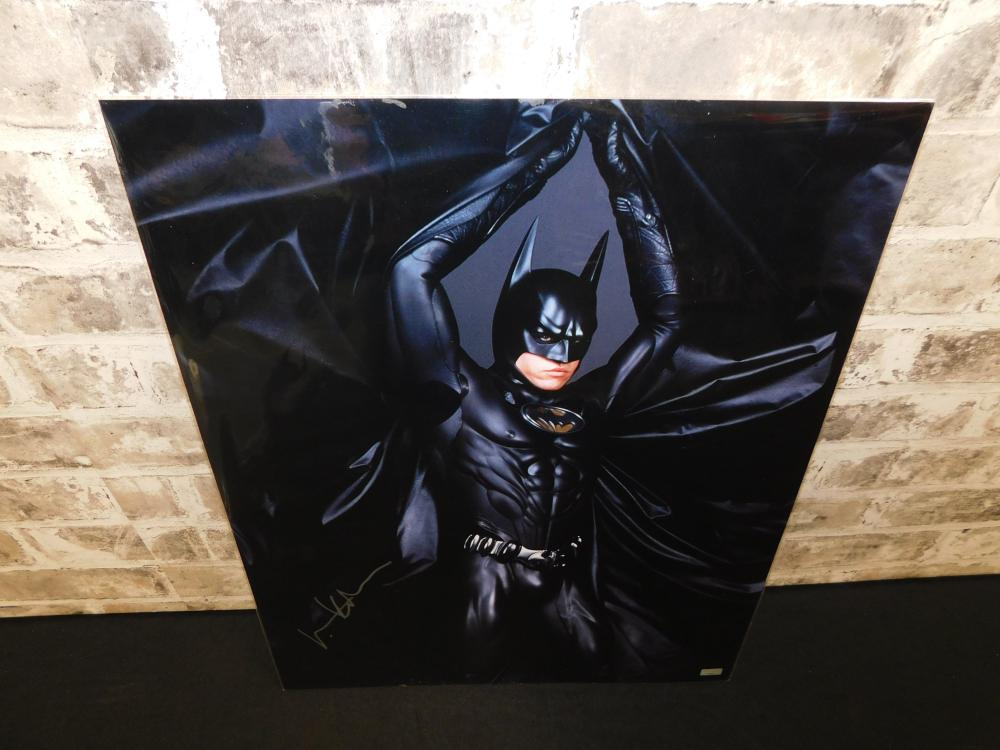 Val Kilmer Autographed Batman Photo