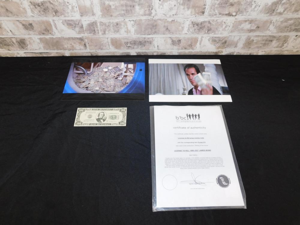 License to Kill Money Prop
