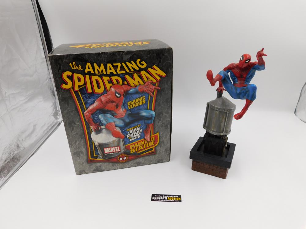 The Amazing Spider-Man Painted Statue