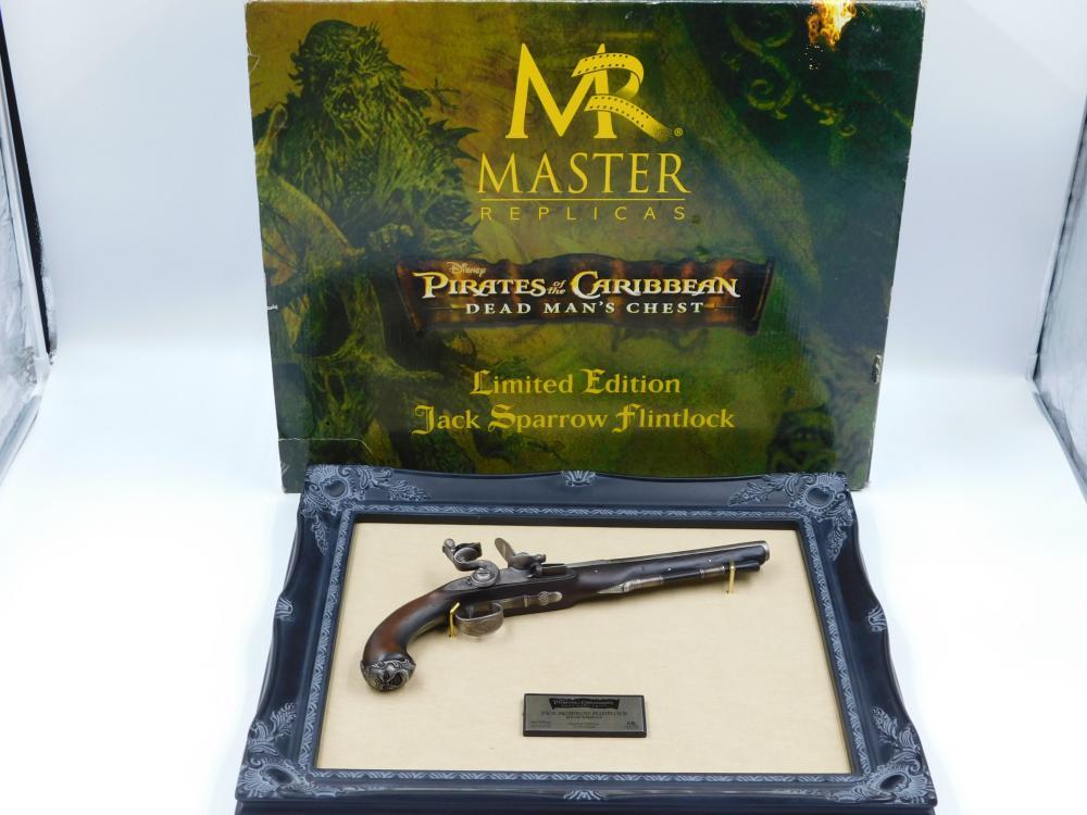 Jack Sparrow Master Replicas Flintlock
