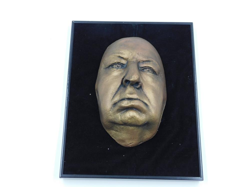 Alfred Hitchcock Life Mask