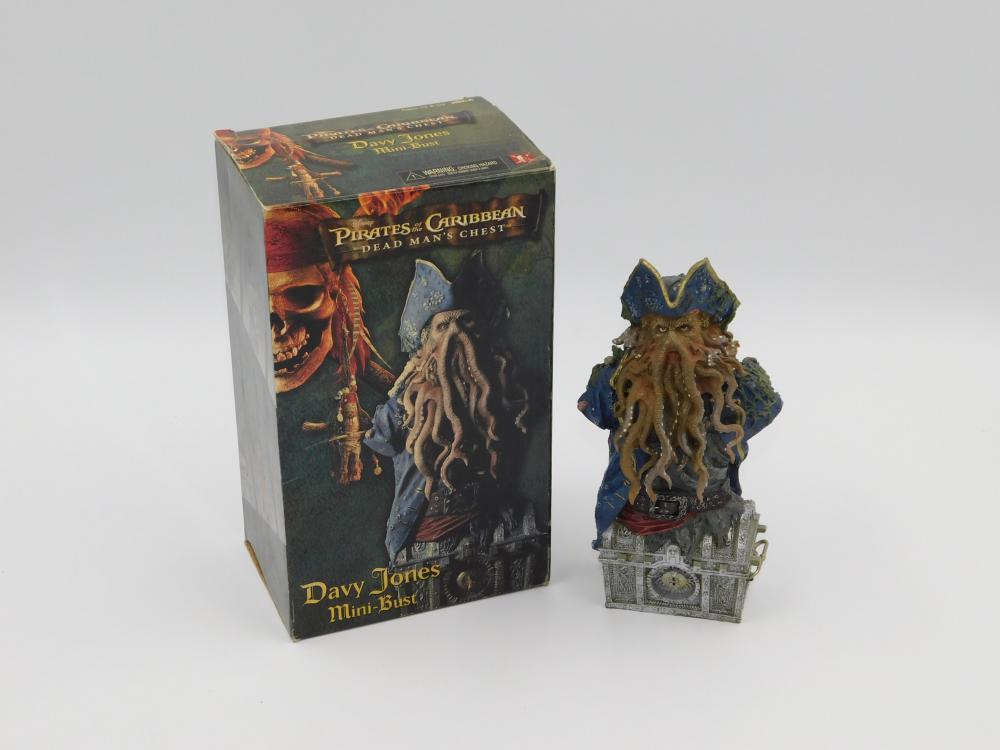 Pirates of the Caribbean Dead Mans Chest Davy Jones Mini Bust