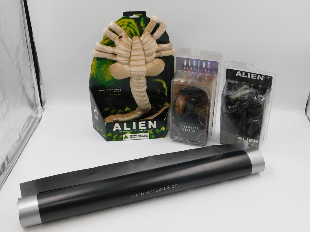 Lot of Alien the Movie Items