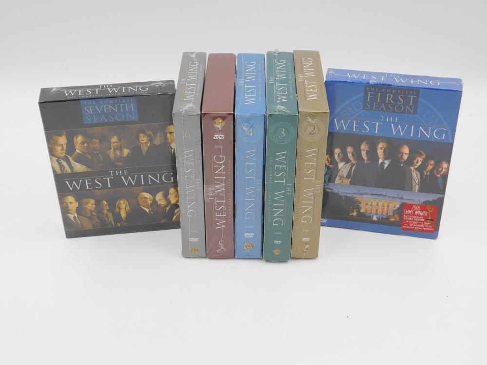 The West Wing Seasons 1-7 DVD Box Sets