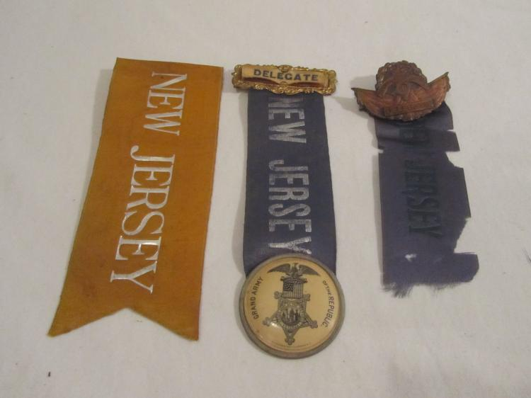 3 New Jersey Reunion Ribbons