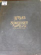 Atlas of Somerset County NJ by Beers Comstock and Klein 1873