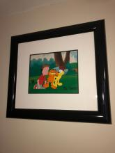 Animation and Serigraph Cel Auction