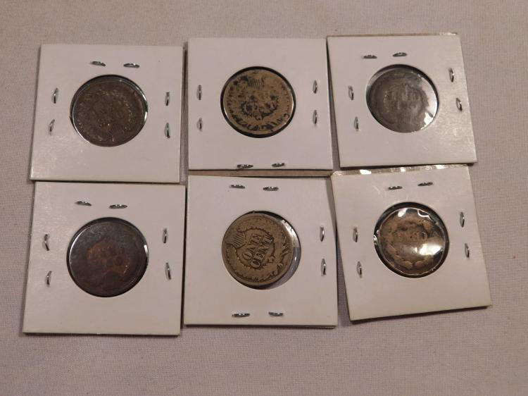 Group of Indian Head Pennies with Some Key Dates
