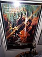 Framed Movie poster of Excalibur autographed by