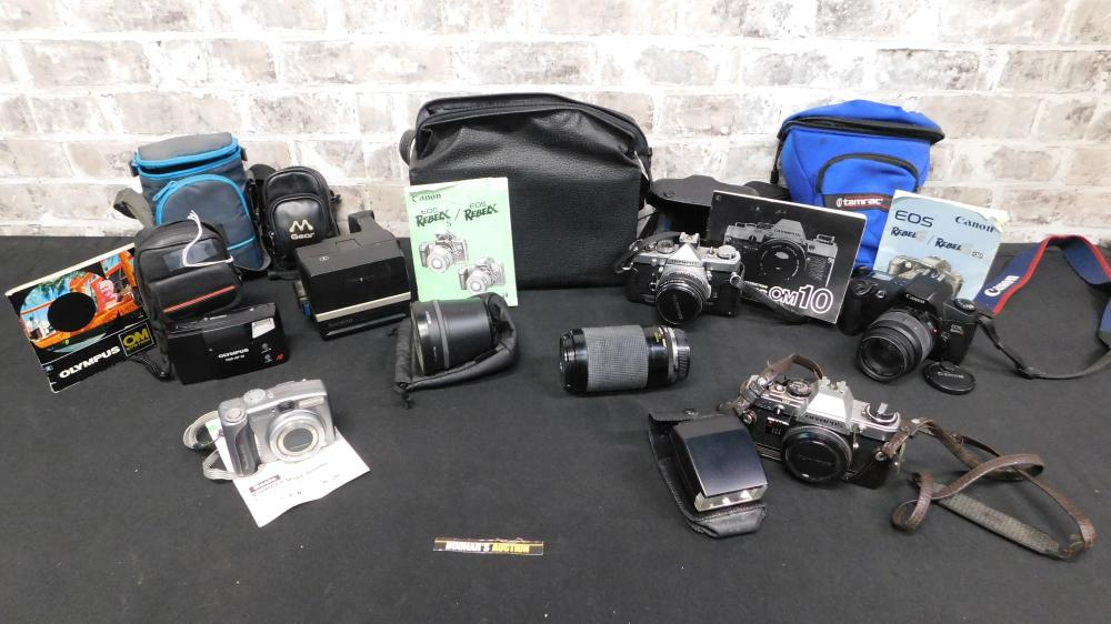 Lot of Vintage Cameras and Lenses
