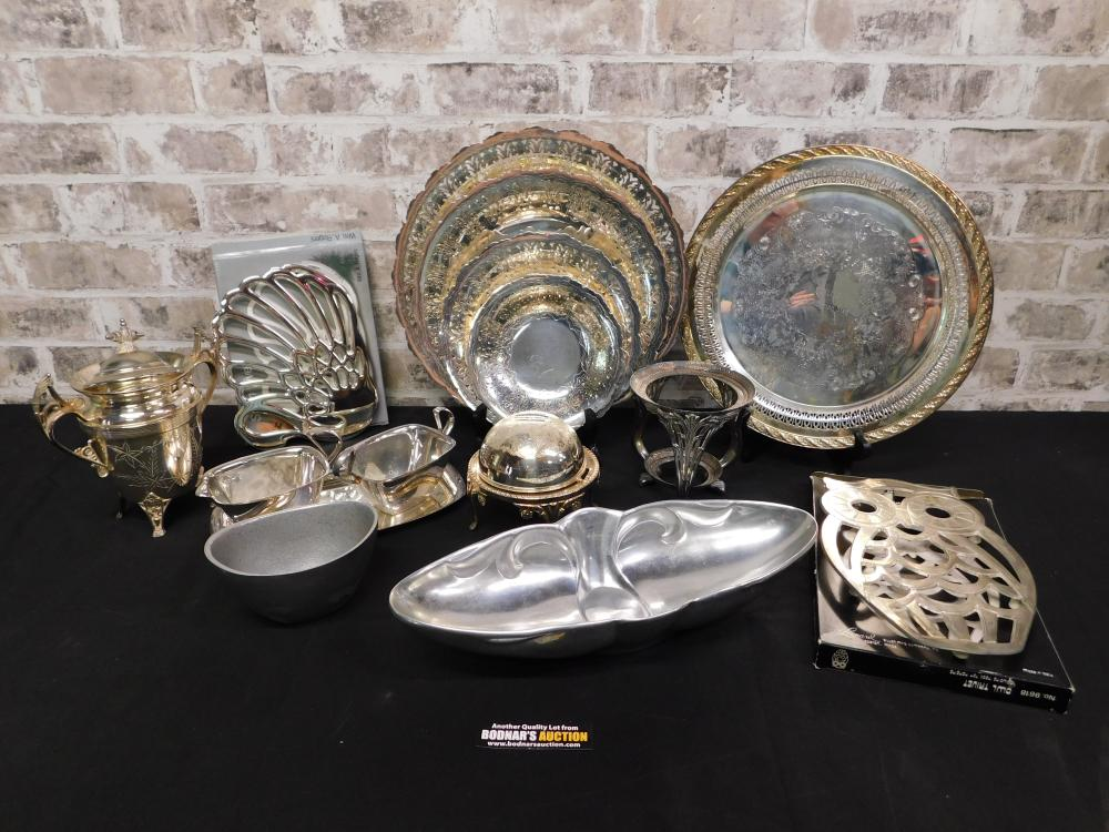 Lot of Silverplate including Gorham