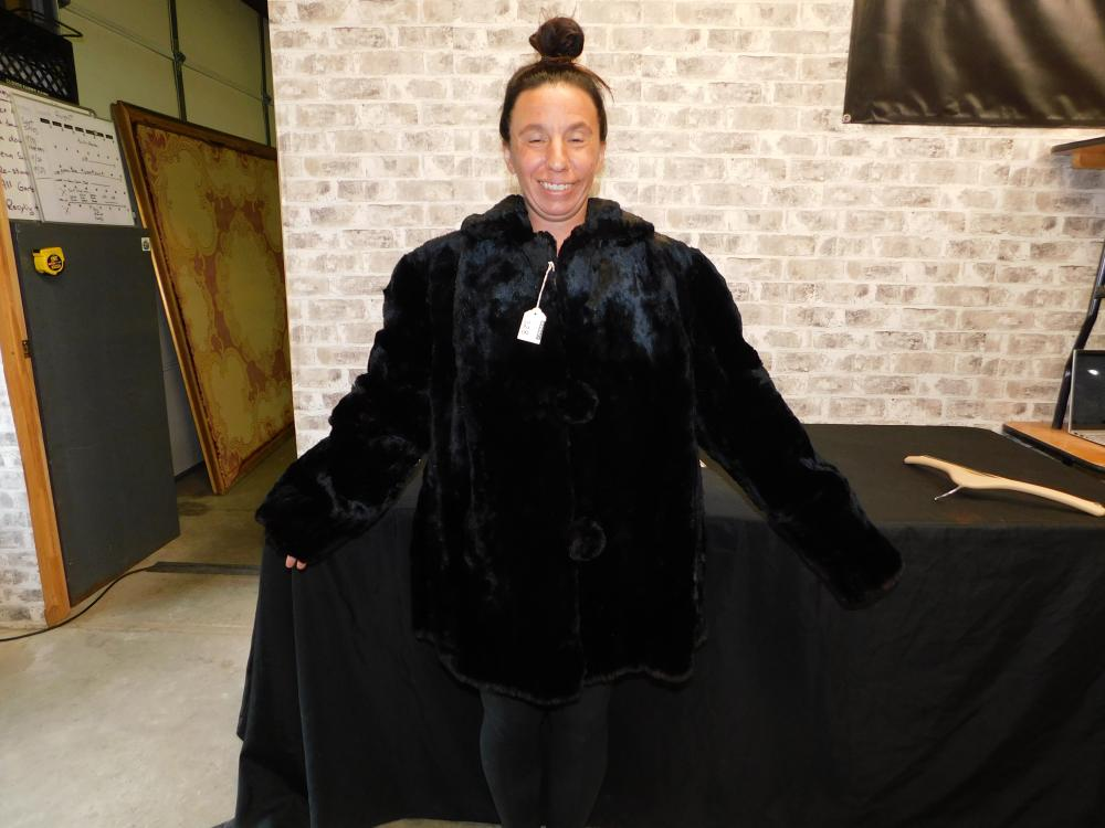 Vintage Beaver Fur Jacket