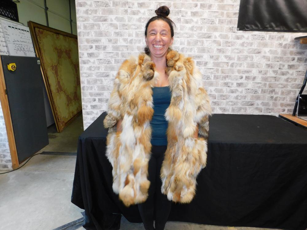 Fur Cape/Shawl - Oscar De La Renta