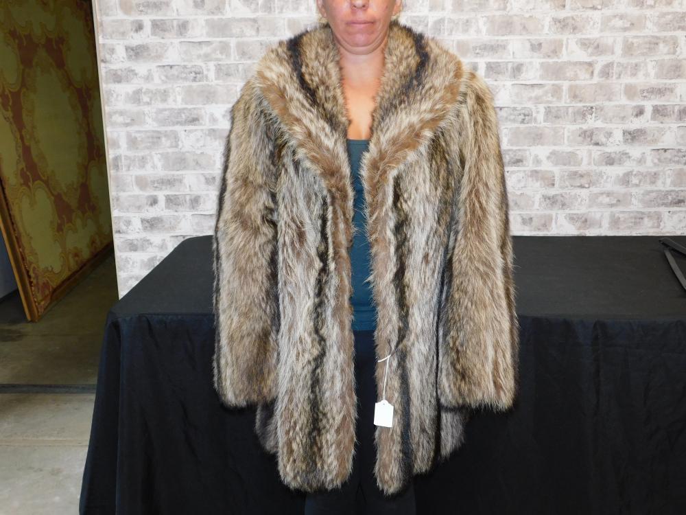Fur Coat Marked Revillon Paris