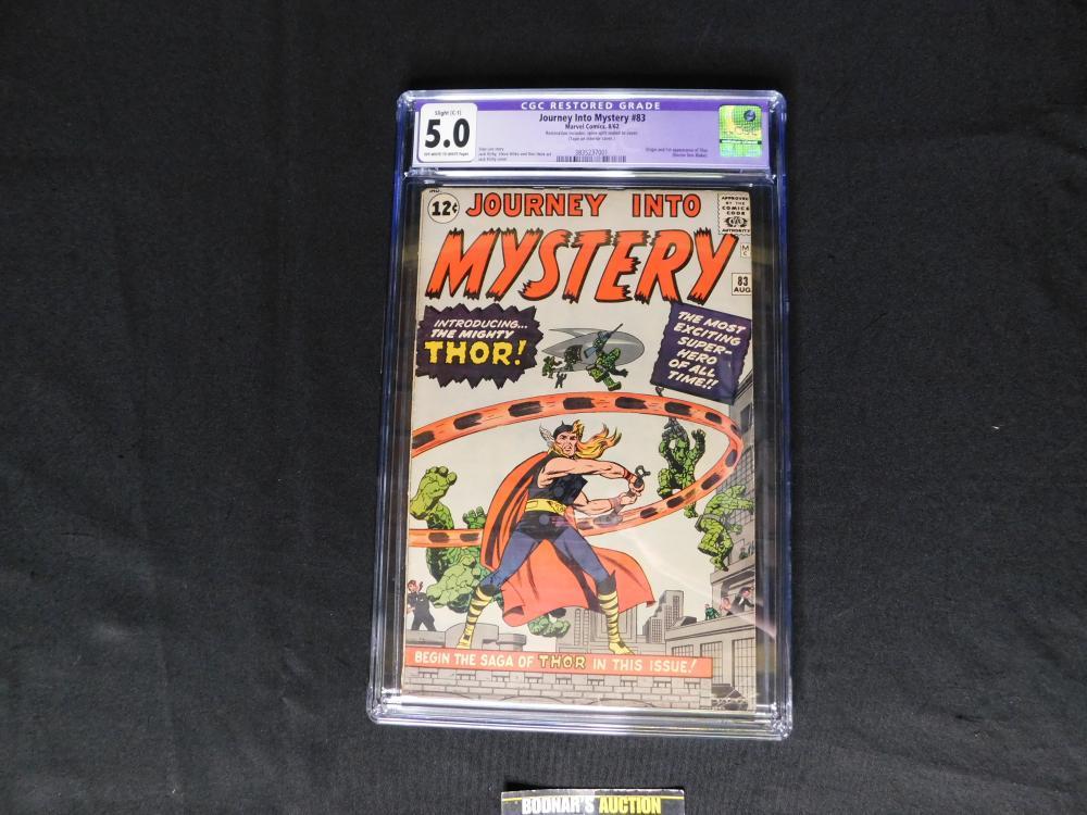 Journey into Mystery #83 CGC 5.0