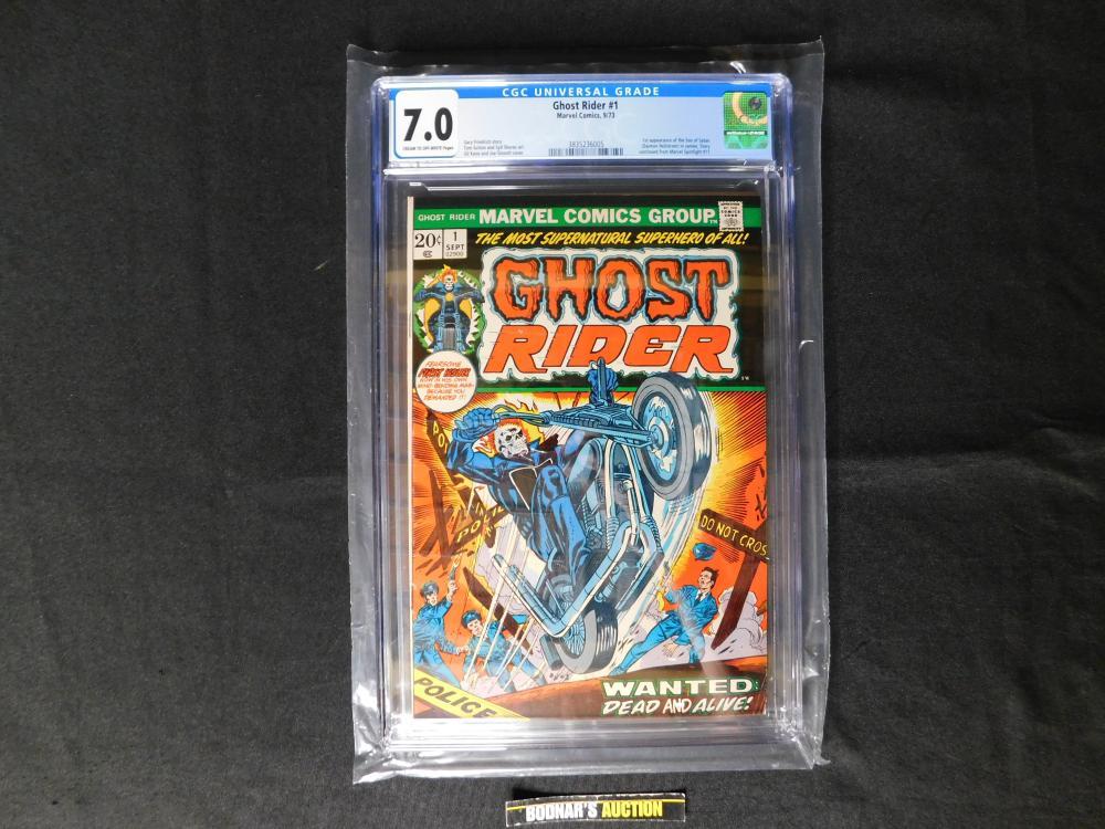 Ghost Rider #1 - CGC Graded 7.0