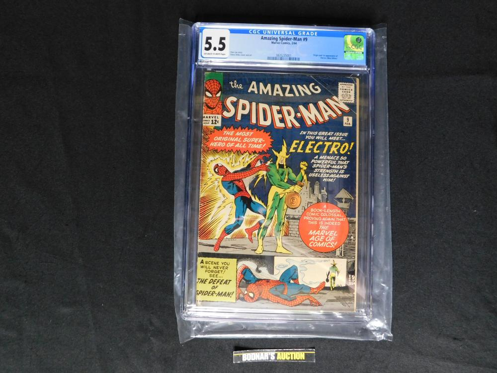 Amazing Spider-Man #9 - CGC Graded 5.5