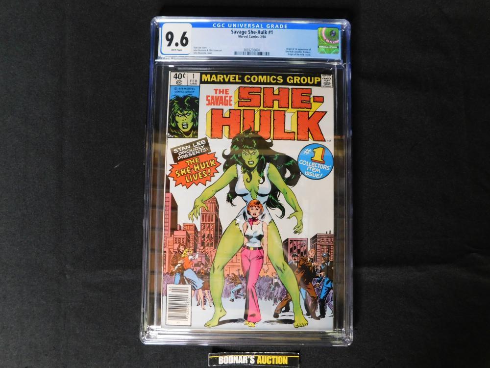 Savage She-Hulk #1 - CGC 9.6