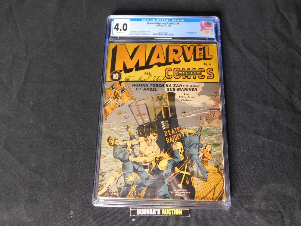 Golden Age Marvel Mystery Comics #4 Graded CGC 4.0
