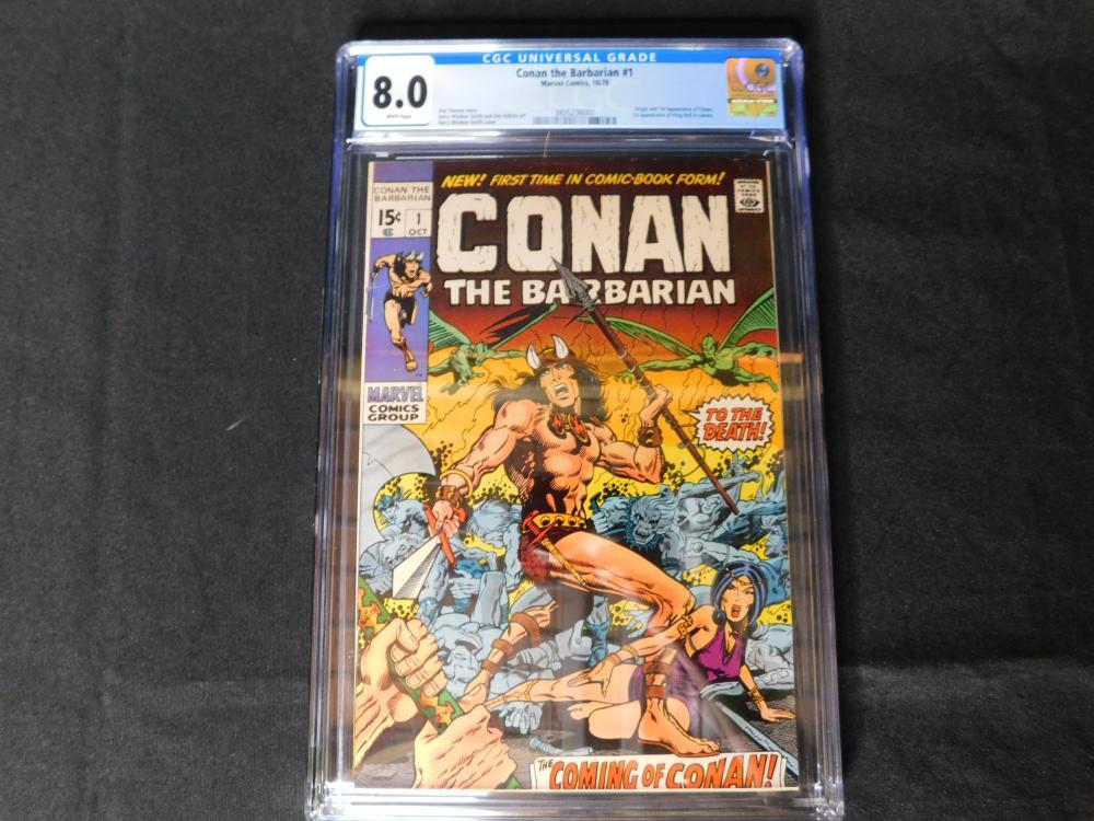 Conan the Barbarian #1 CGC 8.0