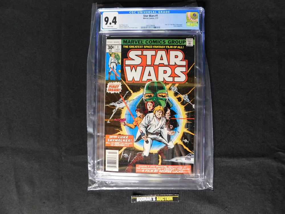 Star Wars #1 - CGC Graded 9.4