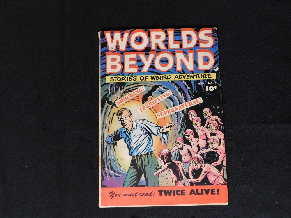 Worlds Beyond #1 - Golden Age Comic Book