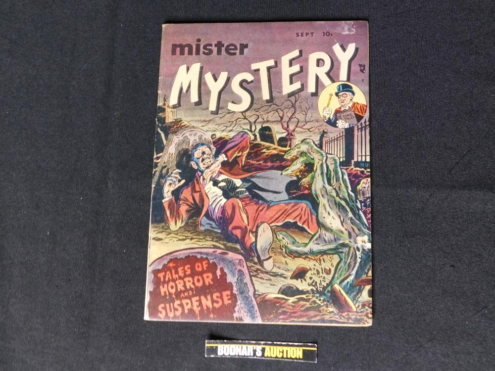 Mister Mystery #1 - Golden Age Comic Book