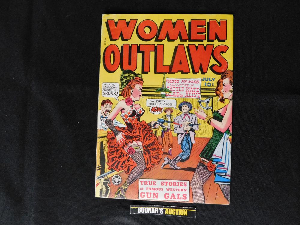 Woman Outlaws #1 - Golden Age