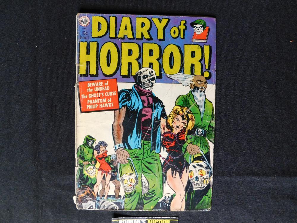 Diary of Horror #1 - Avon 1952 - Golden Age