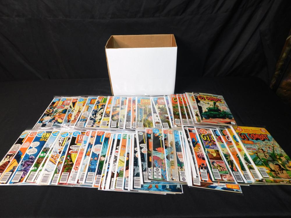 Short Box of Comics - DC War Related