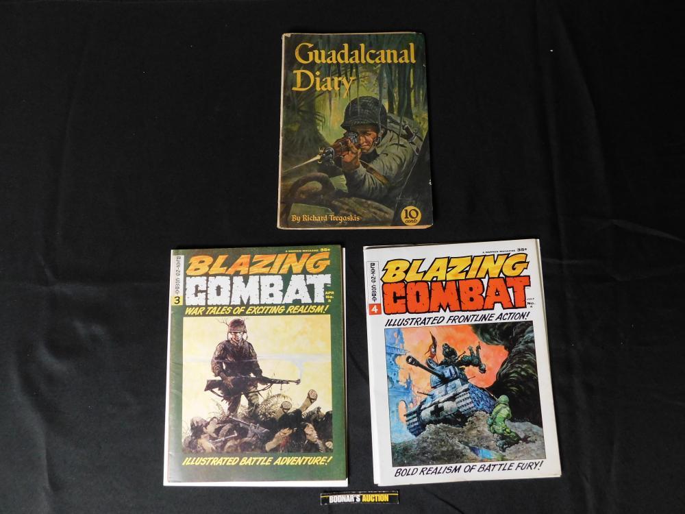 Lot of 3 War Comics