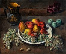 Basch Andor (1885-1944): Autumn table still life