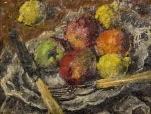 Basch Andor (1885-1944): Still life with fruits, 1938