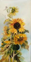Júlia Zsolnay Mattyasovszky: Sunflowers, 1915