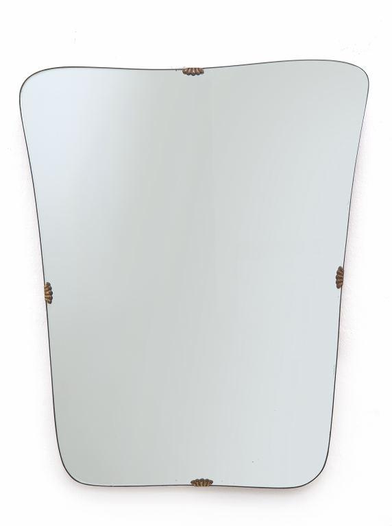 uno specchio da parete anni 50 ottone ForLots Specchio