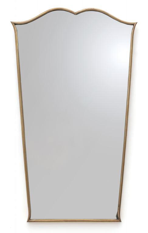 Uno specchio da parete anni 39 50 ottone - Specchio anni 50 ...