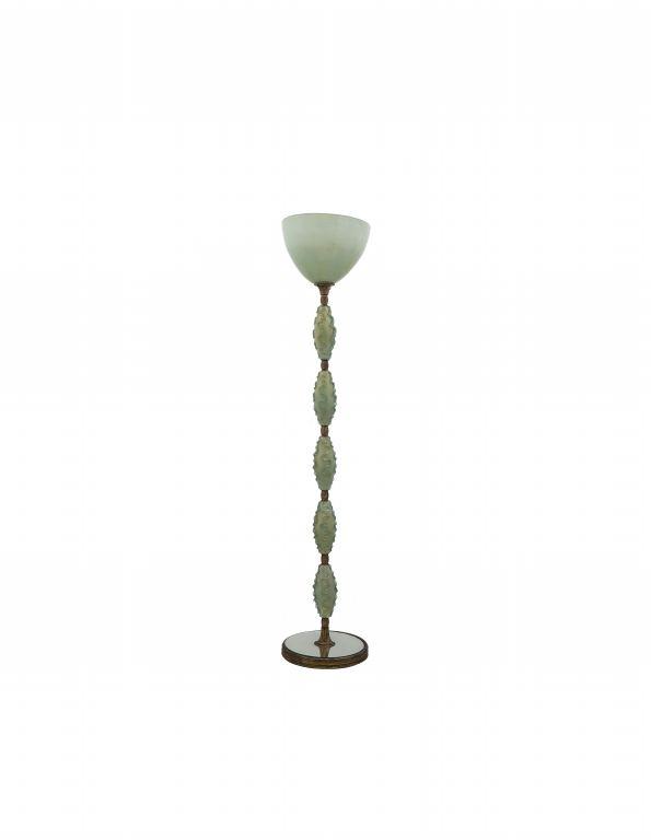 MURANO, anni '60. Una lampada da terra con