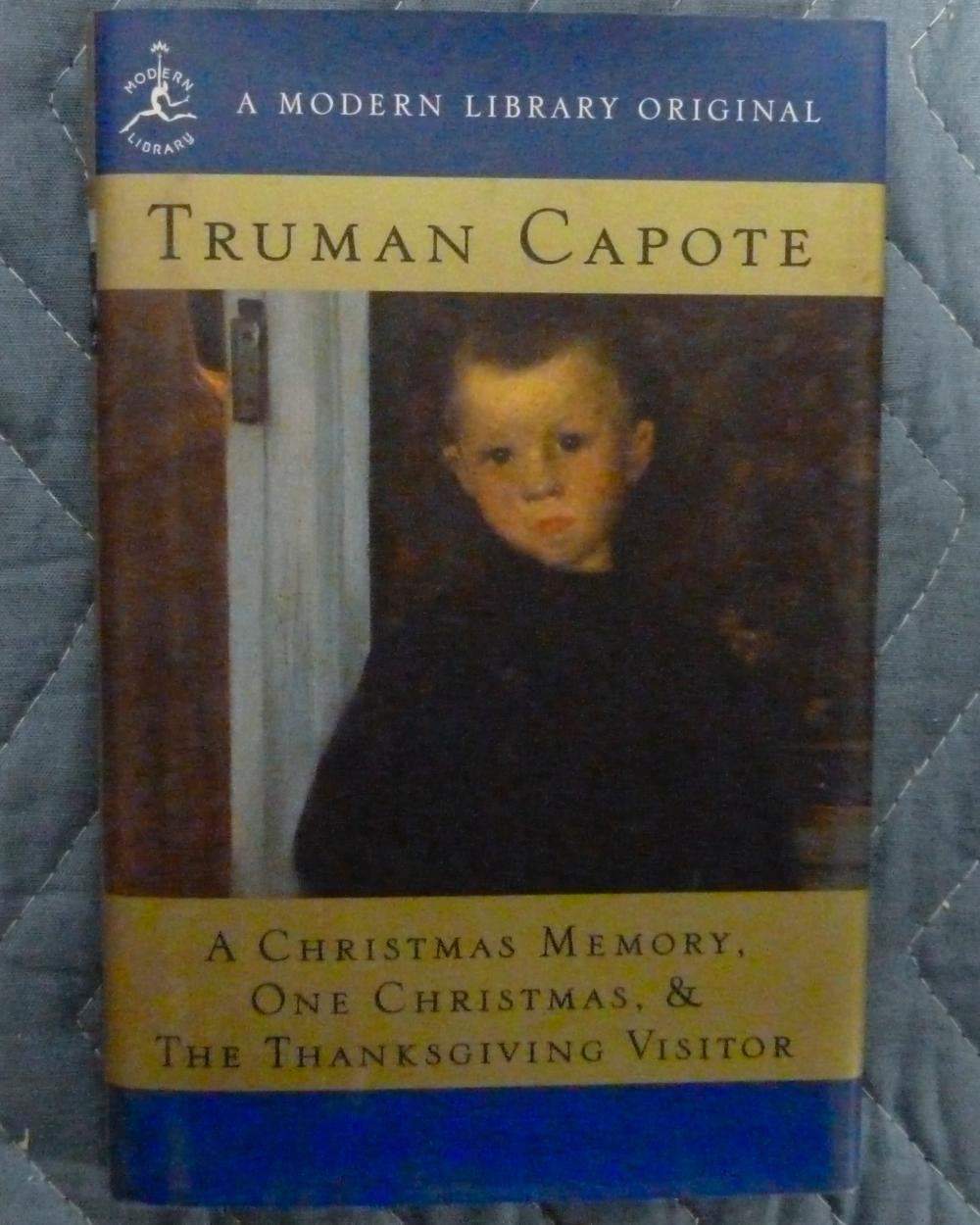Truman Capote A Christmas Memory.Marlon Brando Library Collection A Christmas Memory One C
