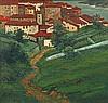 LABROUCHE Pierre (1876-1956) « Village basque » Huile sur toile, signée en bas à gauche 95 x 100 cm, Pierre Labrouche, Click for value