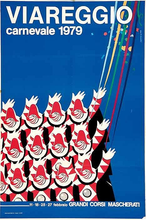 Tourism poster - VIAREGGIO