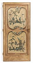 A DOOR PANEL Piedmont, 19th Century