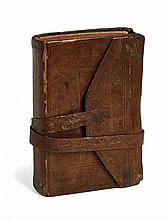 A TRAVEL NOTEBOOK 19th Century