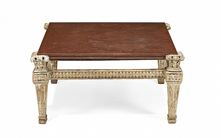 A Marble Top Coffee Table 20th Century