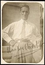 Chevalier, Maurice (1888-1972).