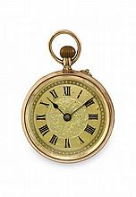 FOUR GOLD POCKET WATCHES, END OF 19TH CENTURY